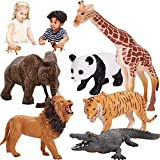 HERSITY Figuras Animales del Bosque Juguete Colección de Animales de la Selva Regalo Fiesta para Niños Niñas