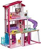 Barbie - Casa de Muñecas con Accesorios, La Casa de Tus Sueños, con Elevador Nuevo (Mattel Gnh53)