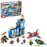 LEGO 76152 Marvel Super Heroes Vengadores: Ira de Loki Juguete de Construcción, Figura de Iron Man y Hulk