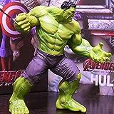 TOY La Figura De Acción Juguetes Marvel Hulk Hulk Acción De Los Personajes De Juguete Modelo De La Decoración del Hogar Material PVC 23cm Altura