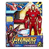 Avengers: Infinity War – Iron Man Mission Tech Titan Hero con Accesorio (Personaje, Figuras Action), E0560103