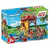 PLAYMOBIL Country 70501 Starter Pack Granja de Caballos, Para niños a partir de 3 años
