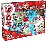 Science4you-Laboratorio Antivirus-Juego Cientifico, Regalo, 15 Actividades Incluye Personalizar tu Mascarilla y Hacer Jabón Libro Educativo para Niños +8 Años