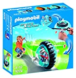 Playmobil Aire Libre-Speed Roller Color Azul Playset de Figuras de Juguete, 2 x 18,7 x 18,7 cm (Playmobil 9204)