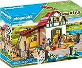 PLAYMOBIL Country Granja de Ponis con muchos Animales y Pajar, A partir de 4 años (6927)
