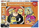 Ravensburger Minions Puzzle 3 x 49 Piezas, GRU, Mi Villano Favorito (8016)