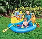AYDQC Plegable Piscina, Bola del océano de billares de la Piscina Inflable del Juego del bebé, Pesca Piscina de Arena Gruesa, Piscina for niños, Piscina for niños Juguetes Party fengong