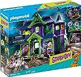 Playmobil - SCOOBY DOO! Aventura en la casa embrujada, Juguete, Color Multicolor, 70361