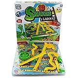 3d Snakes and Escaleras infantil juego de Mesa Tradicional Familia Juguete 3+ Años Grafix