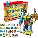 Número de Robots figura de acción regalo de juguete para los niños educación de la primera infancia 15 piezas-Aprendizaje de números de niños
