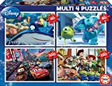 Educa - Pixar Disney Conjunto de Puzzles Progresivos, Multicolor (15615)