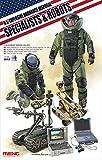 MENG uno y Treinta y Cinco Modelo - US Disposición de artillería explosiva Robots & Especialistas - (MNGHS-003)