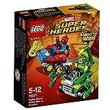 LEGO Marvel Super Heroes - Mighty Micros: Spider-Man vs. Escorpión, Juguete de Coches de Carreras de Superhéroes (76071)