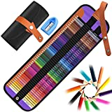 50 Lápices de Colores,DIAOCARE Lápices de Dibujo Colores, Hexagonal, Pintura y Dibujo de Mezcla de Color Profesional,Lápices de Colores para Adultos, Artistas, Alumnos,Niños, Juego de Lápices