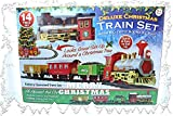 PMS Christmas Express Train Set Funciona con Pilas con Sonido Realista y Luces, Mixto, Talla única