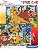 Clementoni- 2 Puzzles 60 Piezas Lion King, Color Mehrfarben (21604.8)