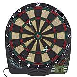 Best Sporting Chester 2 Diana electrónica con Pantalla LCD, 6 Dardos y Puntas de Repuesto, Unisex, 1-8 Spieler
