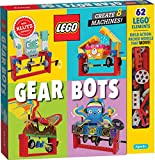 LEGO Gear Bots: Create 8 Machines (Klutz)
