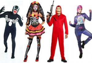 Los Disfraces De Halloween más populares que puedes comprar por Internet