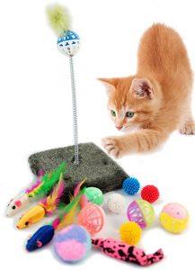 Los mejores Juguetes Para Gatos que puedes comprar por Internet